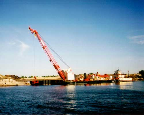 Mobile Crane Hire Great Yarmouth : Seatrax uk offshore cranes installations